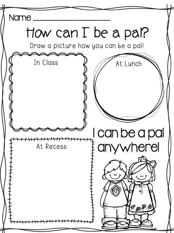 Making Friends Worksheets Kindergarten Pin On Printable Worksheet for Kindergarten
