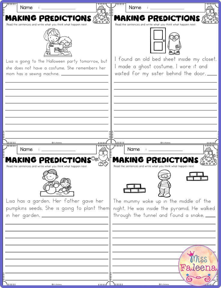 Making Predictions Worksheets 3rd Grade October Making Predictions
