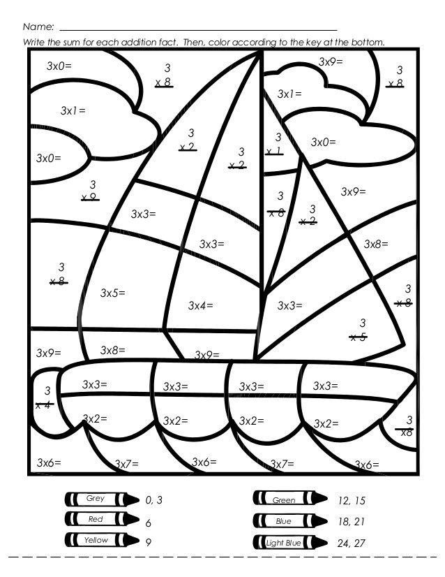 Math Coloring Worksheets 3rd Grade Pin On Printable Coloring Worksheet for Kindergarten