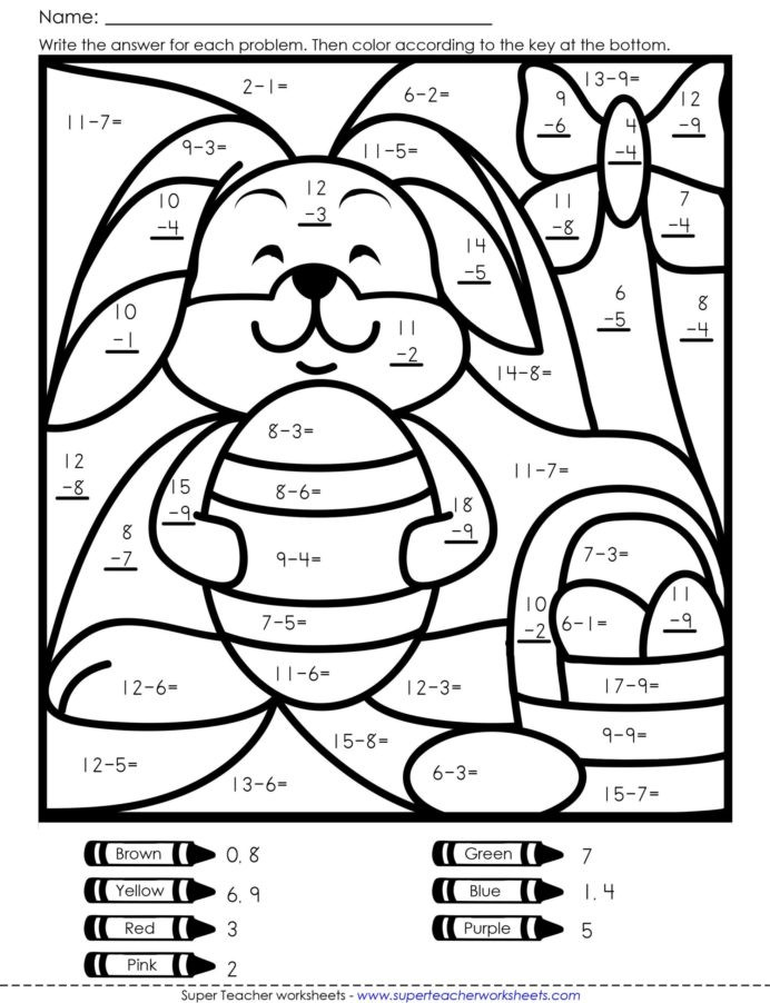 Math Coloring Worksheets 7th Grade Coloring Colouring In Maths Game Math Activity Worksheets
