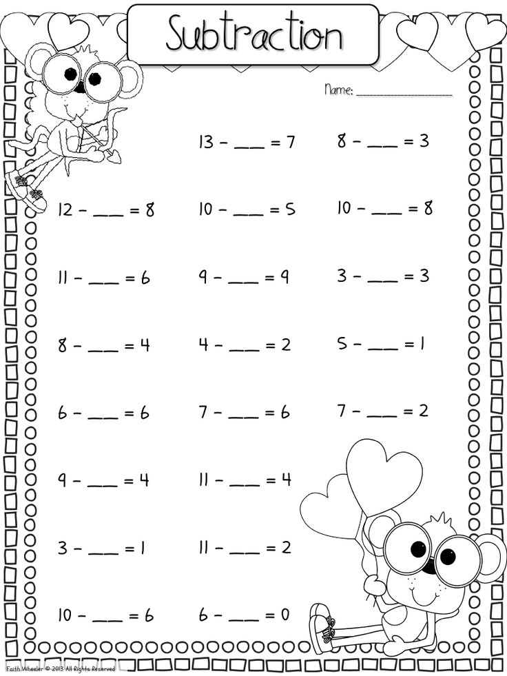 Missing Addends Worksheets First Grade Missing Number Worksheet New 839 Missing Number Worksheet