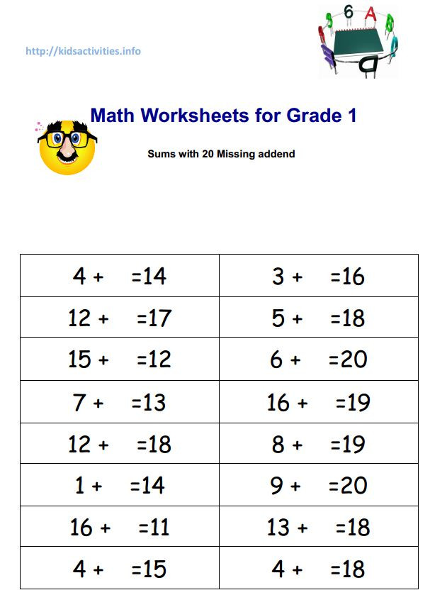 Missing Number Worksheets 2nd Grade 2 Digit Addition with Pictures Worksheets Free