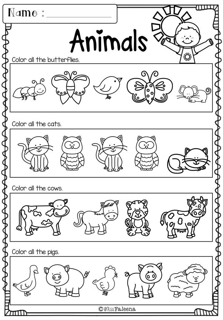 Morning Worksheets for Kindergarten Kindergarten Morning Work Bundle