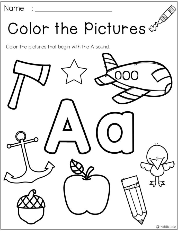 Morning Worksheets for Kindergarten Letter the Week Kindergarten Morning Work Phonics Name