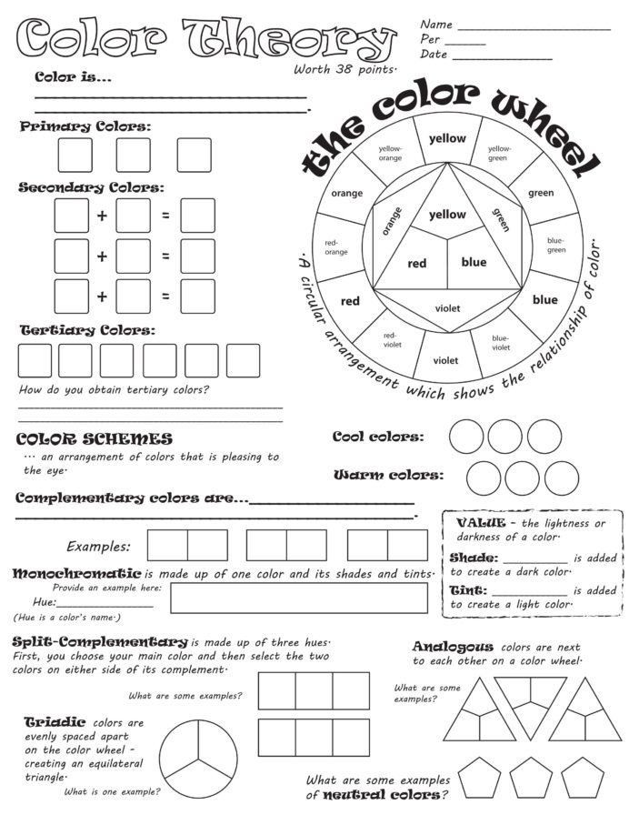 Native American Math Worksheets Color Wheel Worksheet Vozeli