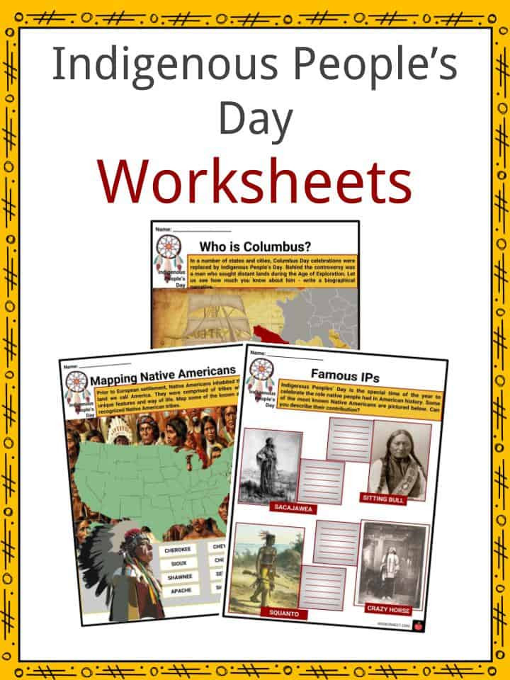 Native American Math Worksheets Indigenous People S Day Facts Worksheets Cultural Impact