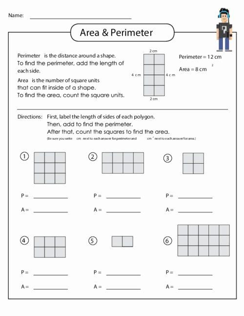 Perimeter Worksheets 3rd Grade Pin On Editable Grade Worksheet Templates