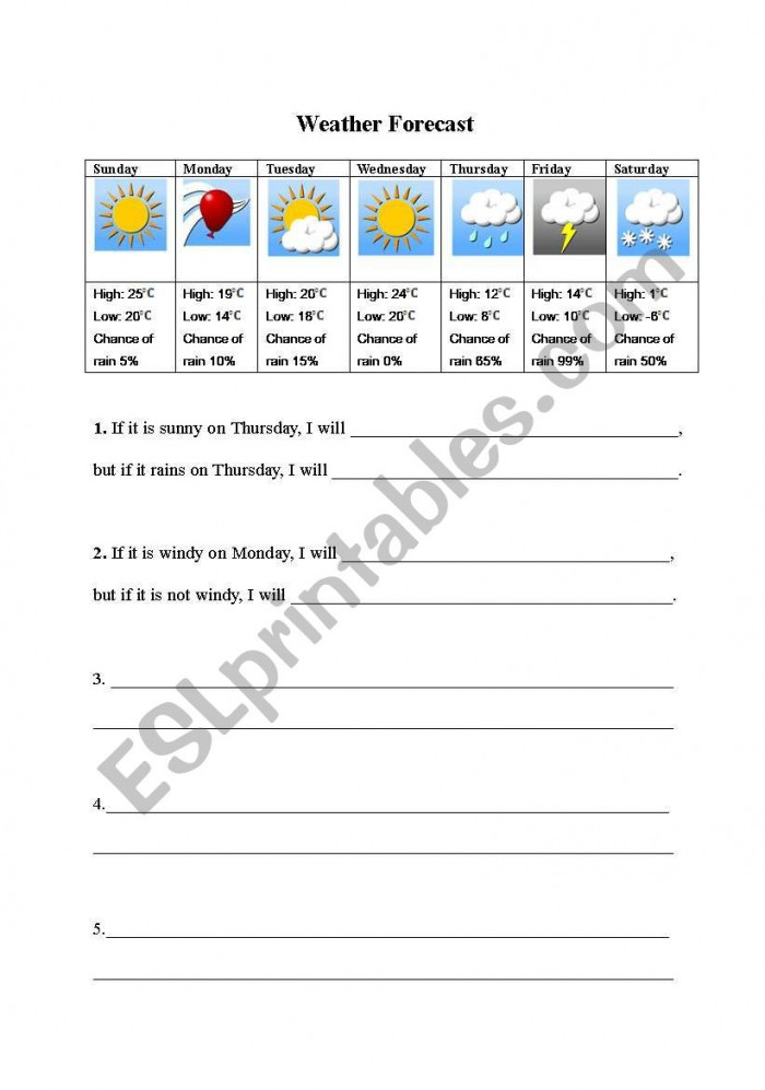 Prediction Worksheets for 2nd Grade My Weather Prediction Worksheets