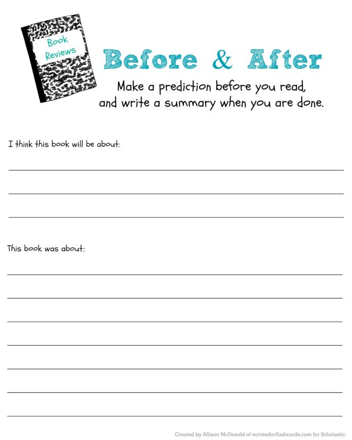Prediction Worksheets for 3rd Grade Judge Book by Its Cover to Predict Read Scholastic Parents