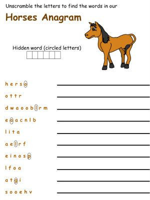Printable Horse Anatomy Worksheets Pin On Horse Camp Written Work