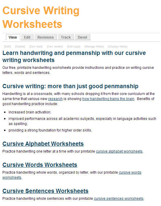 Printable Typing Worksheets Free Printing and Cursive Handwriting Worksheets