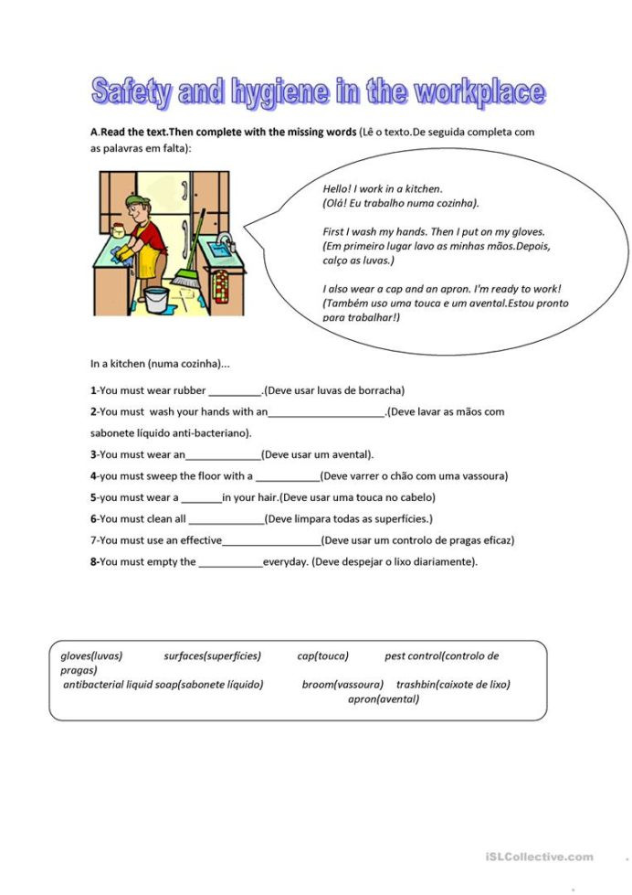 Printable Typing Worksheets Workplace Safety Worksheets for Students Worksheets Fun Math