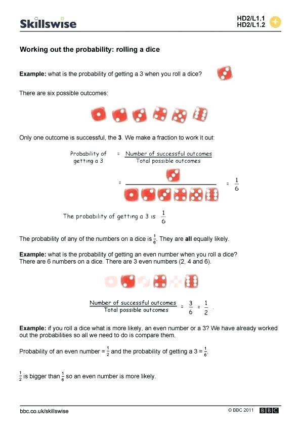 "Probability Worksheets 7th Grade Pdf Probability Worksheets Pdf 7th Grade لم يسبق له Ù…Ø ÙŠÙ"" الصور"