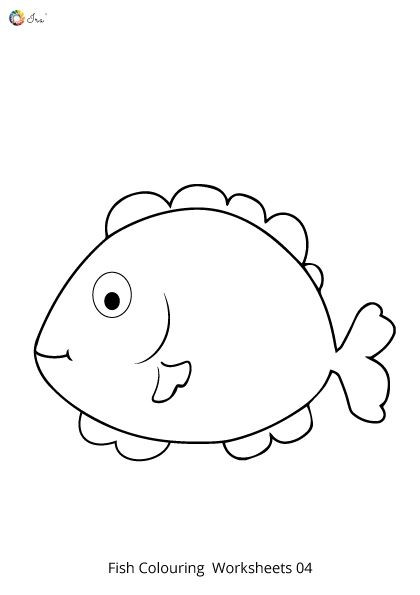Rainbow Fish Printable Worksheets Free Downloadable Fish Worksheet for Kids In 2020