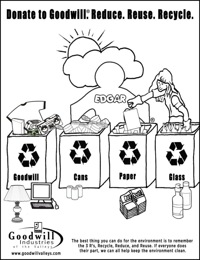Recycle Worksheets for Kindergarten Reduce Reuse and Recycle Worksheet Printable Worksheets Free
