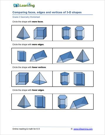 Second Grade Geometry Worksheets Second Grade Math Geometry Worksheets 2020