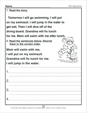 Sequence Worksheets 3rd Grade Sequence Worksheets 3rd Grade – Timothyfregosoub