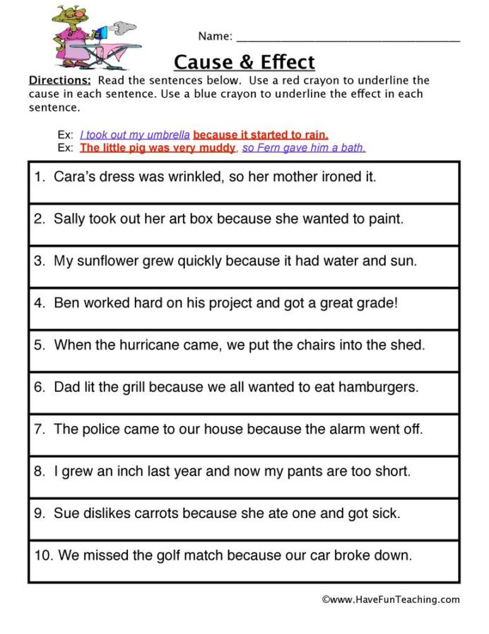 Sequence Worksheets 5th Grade Cause and Effect Worksheet Worksheets 5th Grade Algebra