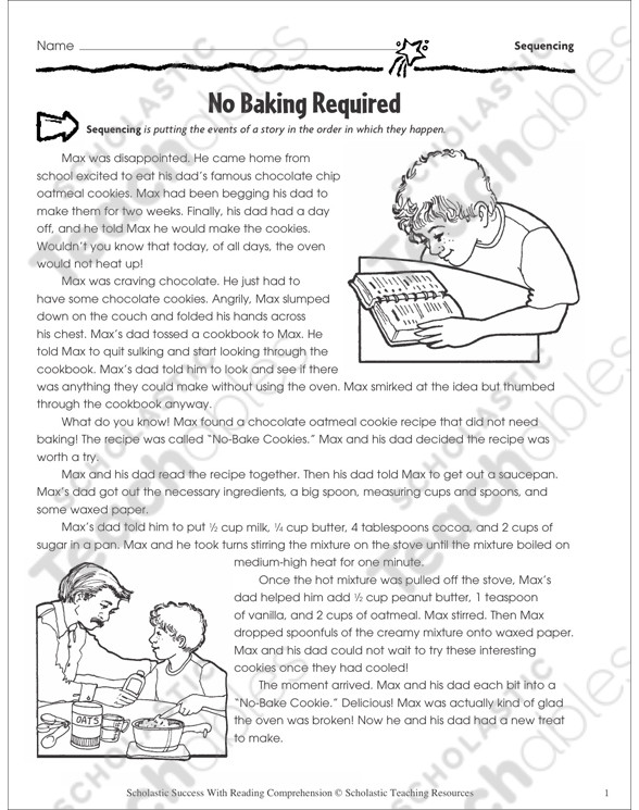 Sequence Worksheets 5th Grade Sequencing Grade 5 Collection