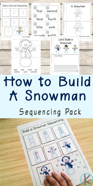 Sequencing Worksheets for 1st Grade Snowman Sequencing Worksheets