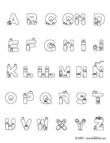 Spanish Alphabet Worksheets for Kindergarten Color Online