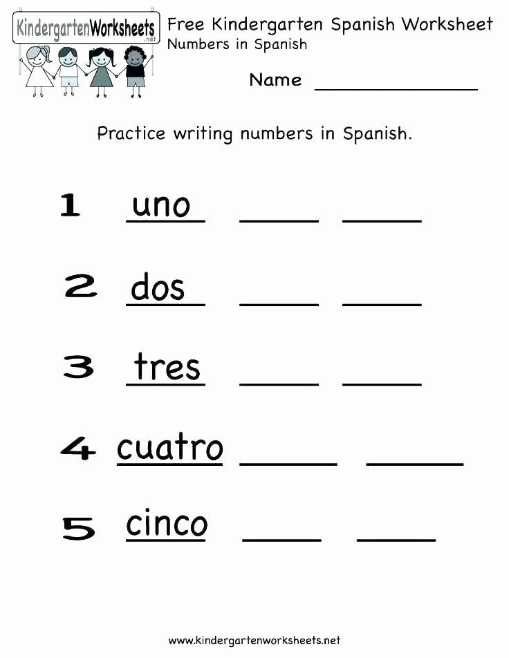 Spanish Alphabet Worksheets for Kindergarten Spanish Alphabet Chart Printable Free Spanish Worksheets for