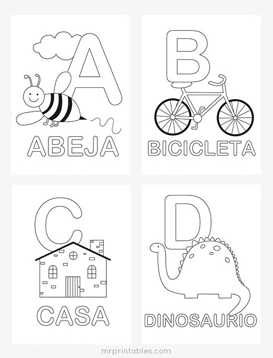 Spanish Alphabet Worksheets for Kindergarten Spanish Alphabet Worksheets Worksheets Second Grade