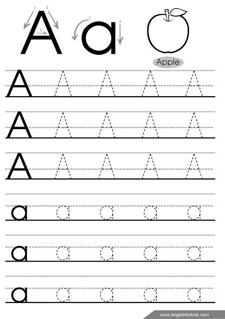 Spanish Alphabet Worksheets for Kindergarten Worksheet Uncategorized Letter Tracing Worksheets Letters