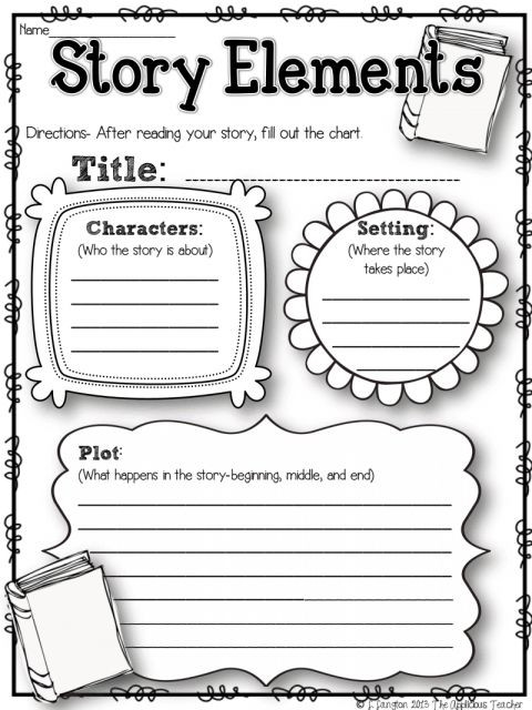 Story Elements Worksheet 2nd Grade 7 2nd Grade Story Elements Worksheet Grade