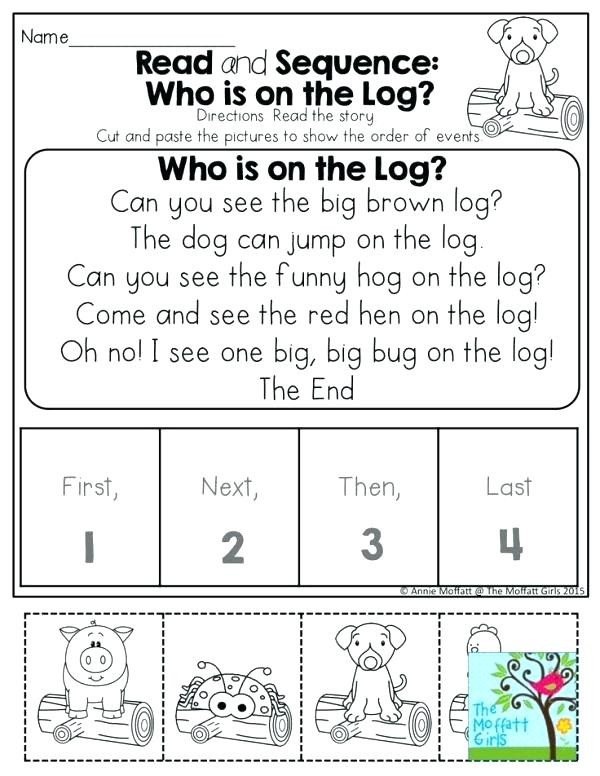 Story Sequence Worksheets for Kindergarten Math Coloring Worksheets 4th Grade 4th Grade Sentence