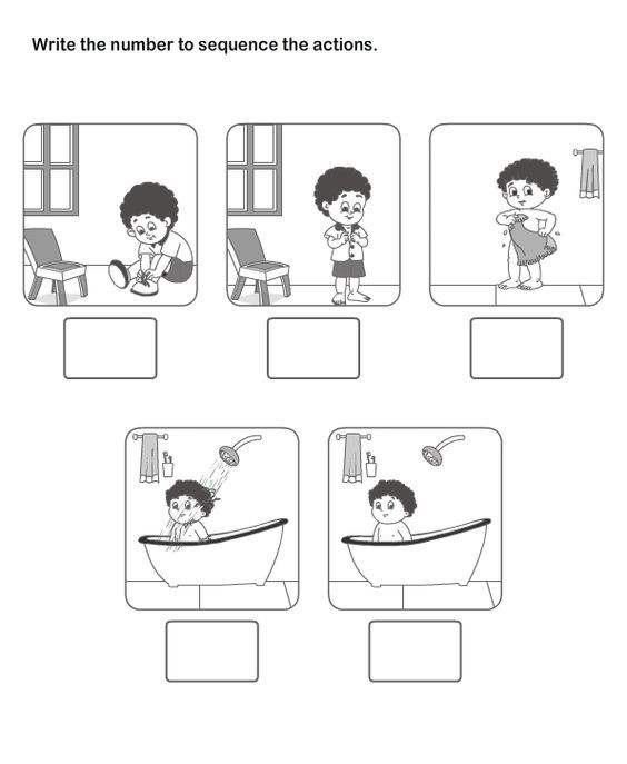 Story Sequence Worksheets for Kindergarten Sequencing Lessons Tes Teach