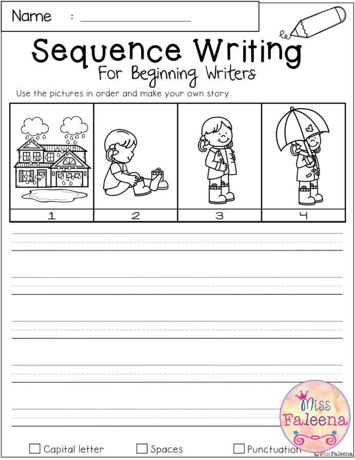 Story Sequence Worksheets for Kindergarten Ww Coolmath Story Writing for Kindergarten Worksheets