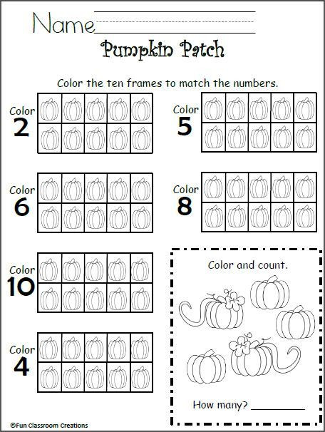 Ten Frame Worksheets Kindergarten Free 10 Frames Math Worksheet Kindergarten