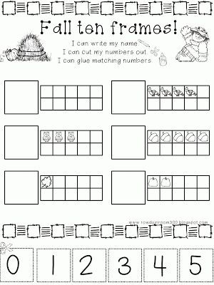 Ten Frame Worksheets Kindergarten Ten Frame Worksheets Kindergarten Geersc