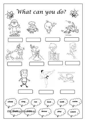 Verbs Worksheet First Grade Image Result for Verbs Actions Worksheets First Grade