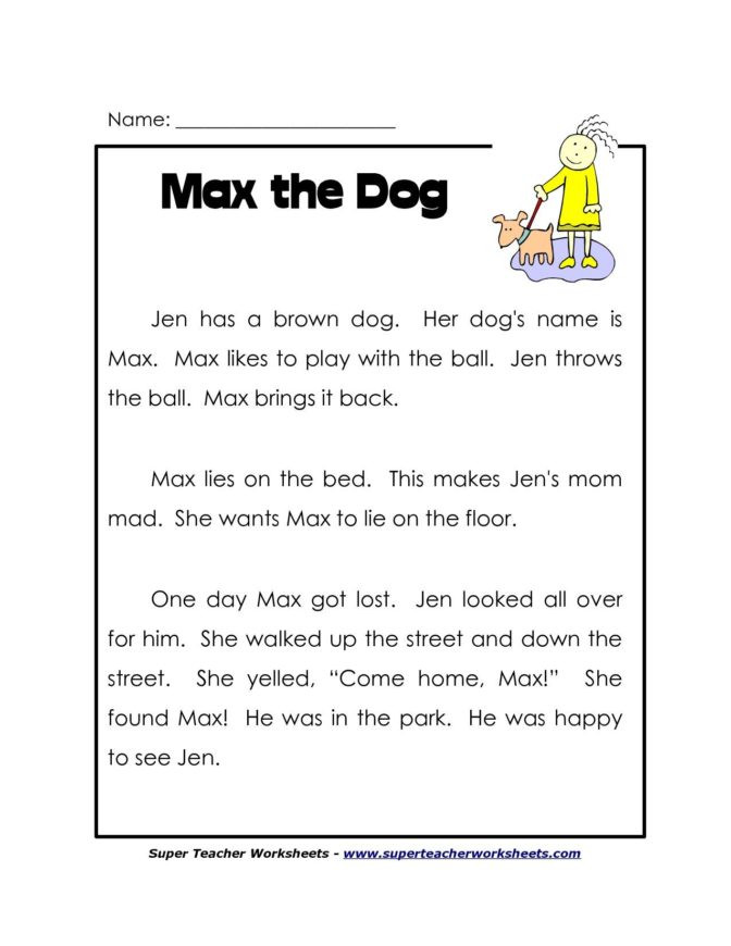 1st Grade Comprehension Worksheets Free Math Worksheet 60 Free Prehension Worksheets for Grade