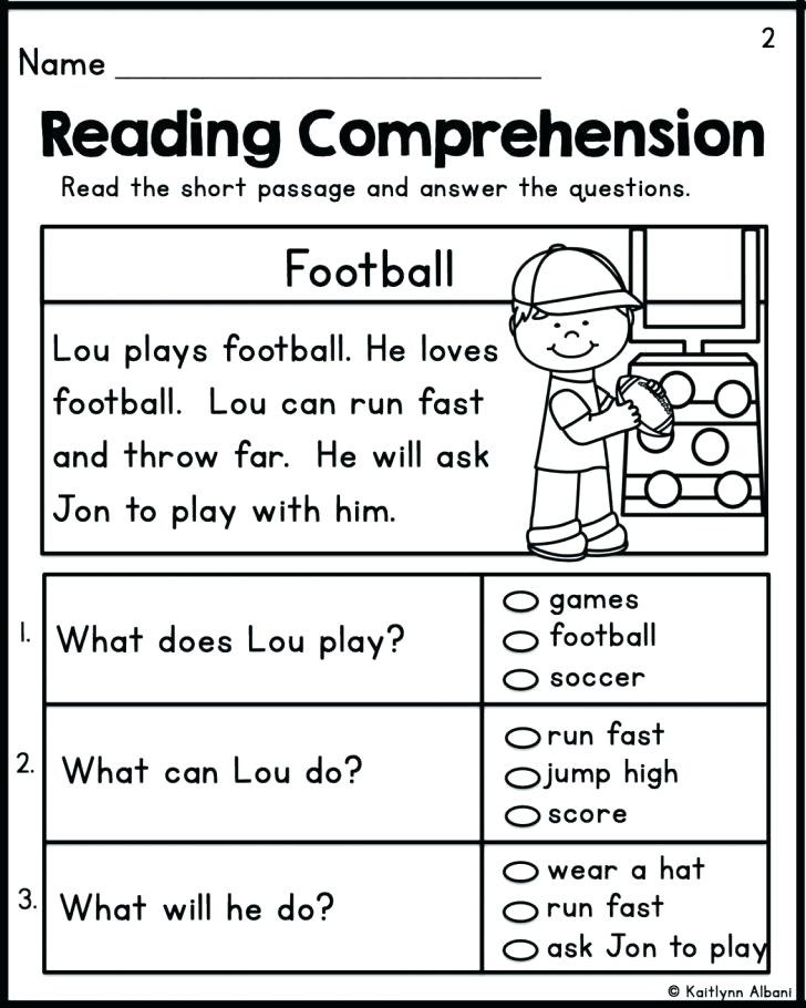1st Grade Comprehension Worksheets Free Worksheets for 1st Graders – Keepyourheadup
