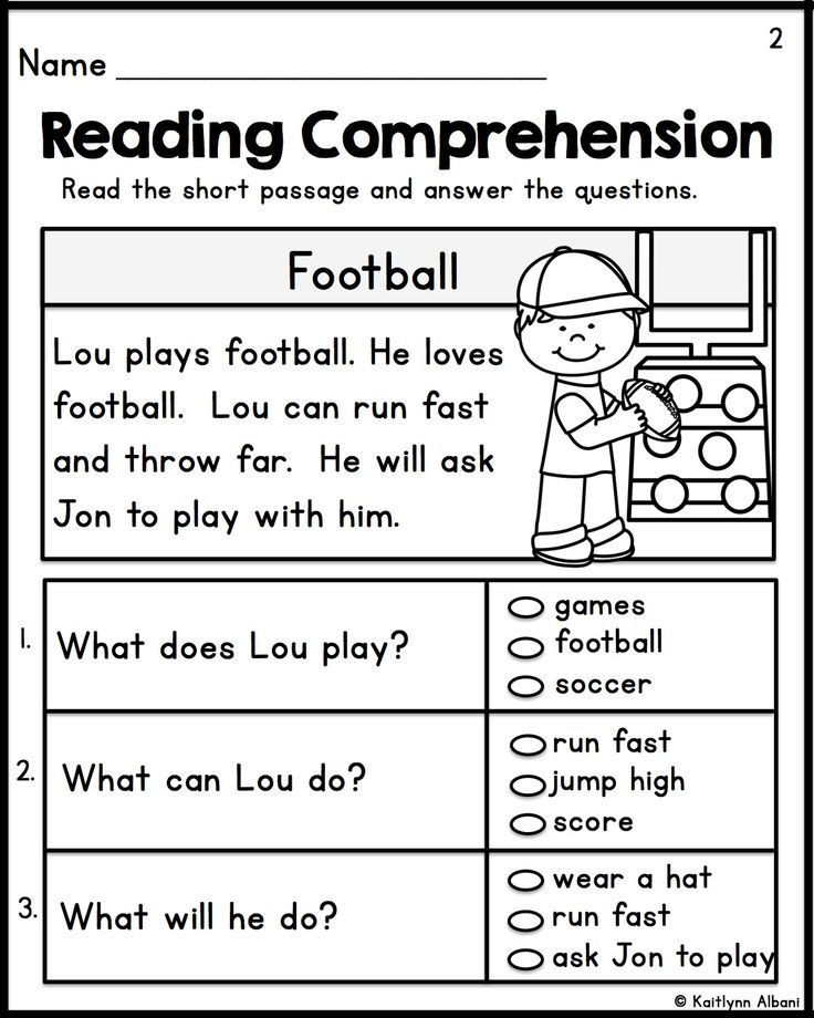 1st Grade Reading Fluency Worksheets Kindergarten Reading Prehension Passages Set 1