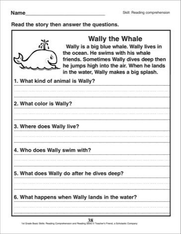 1st Grade Reading Fluency Worksheets Pin On First Grade Worksheets