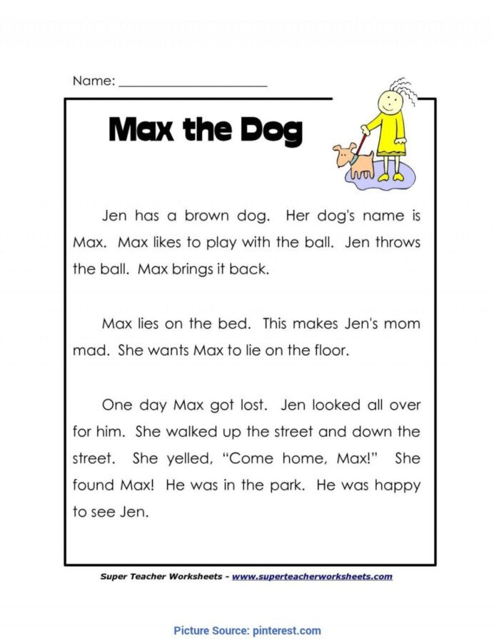 1st Grade Reading Worksheets Printable Worksheet Independent Reading Worksheets Printable and Free
