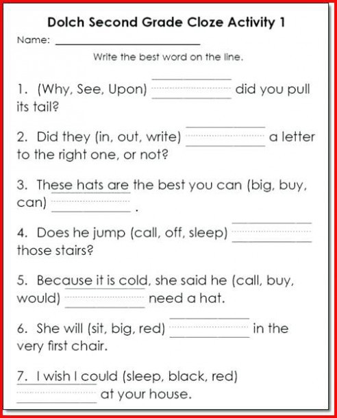 1st Grade Reading Worksheets Printable Worksheet Printable Reading Worksheets Worksheet Free 4th