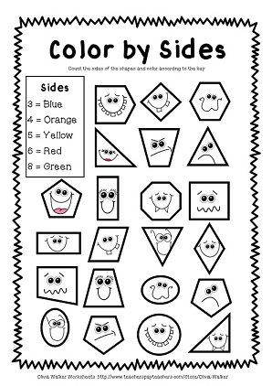 2d Shapes Worksheets Kindergarten Shape Worksheets Geometry Worksheets Kindergarten