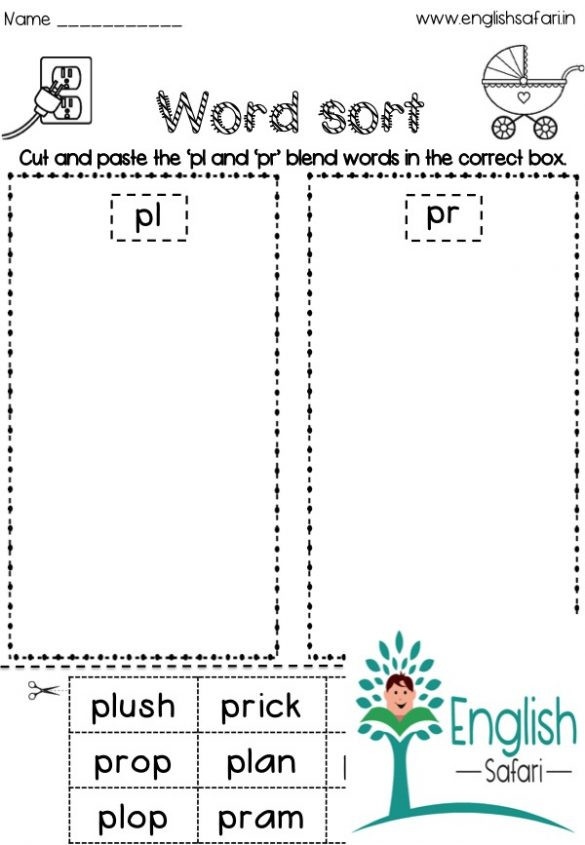 2nd Grade Consonant Blends Worksheets Consonant Blends Worksheets Free