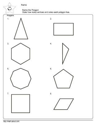 2nd Grade Perimeter Worksheets Teach the Kids Polygons with these Nifty Worksheets for 2nd