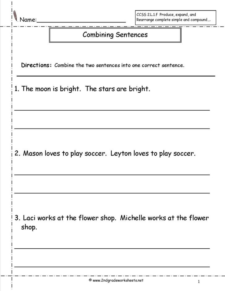 2nd Grade Pictograph Worksheets Worksheet Writing Worksheets for 2nd Grade Englishlinx