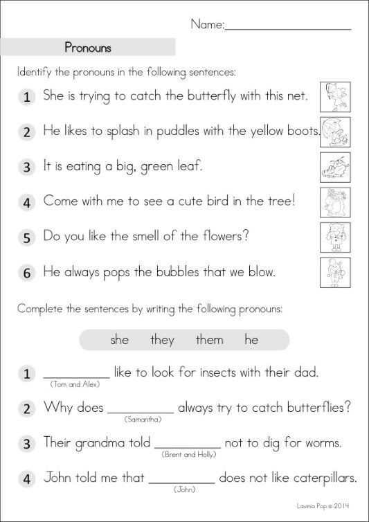 2nd Grade Pronoun Worksheets Grade 2 Homework An Introduction