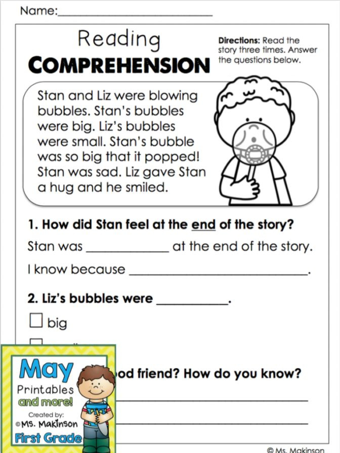 2nd Grade Reading Worksheets Printable Math Worksheet 61 Remarkable 2nd Grade Literacy Worksheets