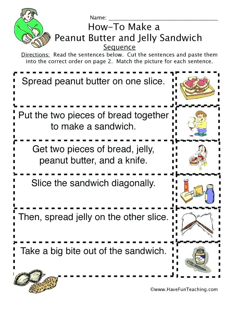 3rd Grade Sequencing Worksheets 20 First Grade Sequencing Worksheets