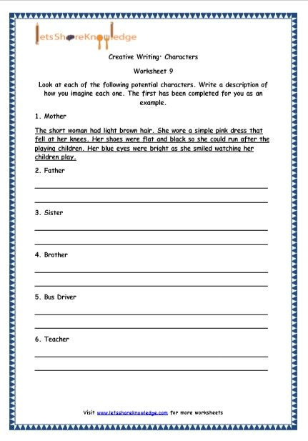 4th Grade Paragraph Writing Worksheets Fun Writing Worksheets for 4th Grade