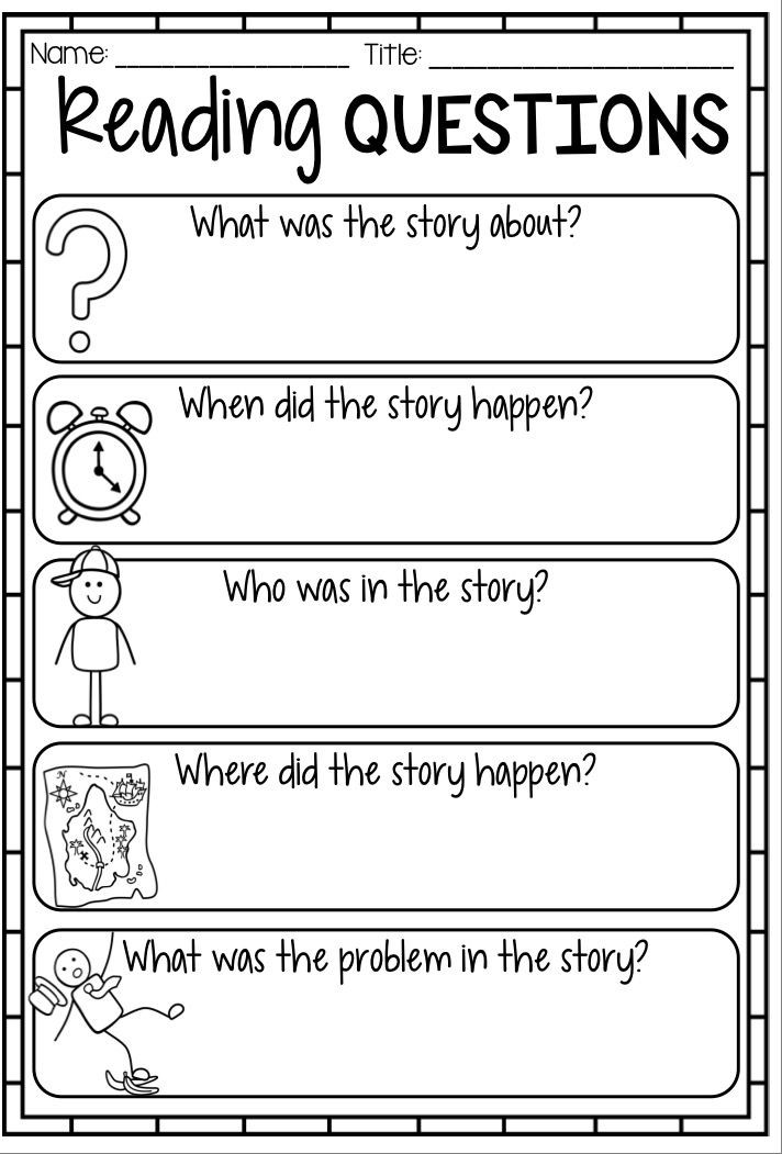 4th Grade Reading Response Worksheets Diy Room Decor